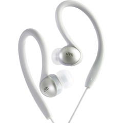 JVC Sport Clip Headphones, Silver - Part Number: 5002-10203