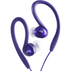 JVC Sport Clip Headphones, Purple - Part Number: 5002-10204