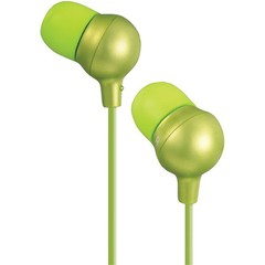 Marshmallow Inner Ear Headphones, Green - Part Number: 5002-10214
