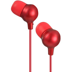 Marshmallow Inner Ear Headphones, Red - Part Number: 5002-10216