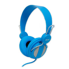 Lightweight Headset with Built-in Slim In-line Microphone, Blue, (iPhone, Smartphone and Computer) - Part Number: 5002-20300BL