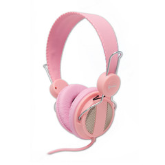 Lightweight Headset with Built-in Slim In-line Microphone, Pink, (iPhone, Smartphone and Computer) - Part Number: 5002-20300PK