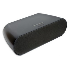Bluetooth Speakers, Black, Powered by 8x AA Batteries or Included 12V Power Adapter, 10 meter/33 foot Range - Part Number: 5002-30100BK