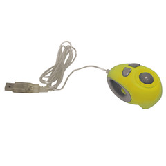 USB Finger Trackball, Yellow - Part Number: 50F2-USB01YL