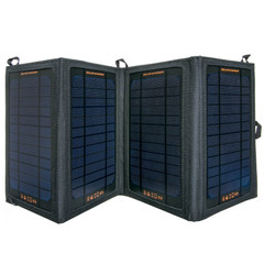 CableWholesale Solar Panel 14 Watt 2.2a - Foldable Portable Power - 2 Usb A Female Outlets at Sears.com