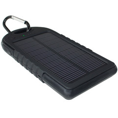 Solar Power Bank - 2 USB Port - Part Number: 50W1-05150