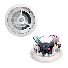 5 inch 2-way Ceiling Speaker, 60W max, 8 ohm, Single Speaker - Part Number: 60HT-10105