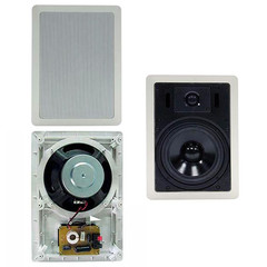 8 inch In-Wall Speaker 100W Max, without Rear Cover, Single Speaker - Part Number: 60HT-22208
