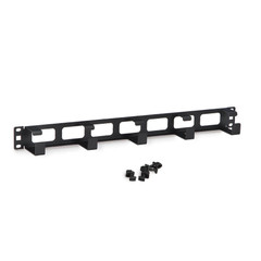 Rackmount 5X D Ring Cable Manager, 1U - Part Number: 61CR-04101