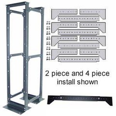 2 Piece Rack Conversion Kit, Bracing System For Anchoring Post Racks - Part Number: 61J2-41100