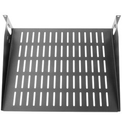 Rackmount Value Line Vented Shelf,  19 inch - Part Number: 61S1-22202