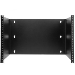Rackmount Patch Panel Hinged Wall Bracket, 7U, 12.5 (H) x 19 (W) x 12 (D) inches - Part Number: 68BP-2107U