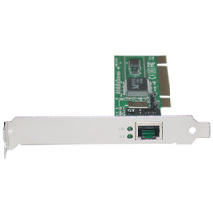 PCI Network Adapter, 10/100 Mbps, Realtek Chipset, no BootROM Socket - Part Number: 7001-2632S