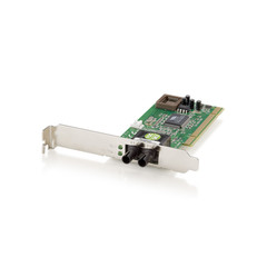 100BASE-FX Multi-mode Fiber Optic PCI Card (ST) - Part Number: 70X5-01102