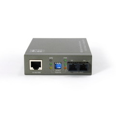 10/100/1000BASE-T to 1000BASE-SX Multi-Mode Fiber Converter (SC) Gigabit - Part Number: 71F1-201SC