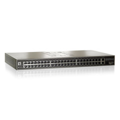 48 Port 10/100 Fast Ethernet Switch with 2 Gigabit Ethernet Ports and 1 Combo SFP Port - Part Number: 71X5-03148