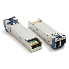 1.25 Gbps Single-mode SFP Transceiver (up to 80 km) - Part Number: 72X6-02103