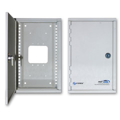 Media Cabinet, Surface Mount Enclosure, Dimensions: 7 (W) x 11 (H) x 3 5/16 (D) inches - Part Number: 7550-00100