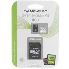 microSD Card, 4 GB - Part Number: 8401-04000