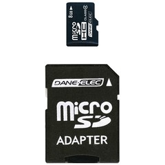 microSD Card, 8 GB - Part Number: 8401-08000