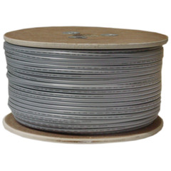 Bulk Phone Cord, Silver Satin, 28/6 (28 AWG 6 Conductor), Spool, 1000 foot - Part Number: 8606-1000F