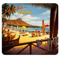 Mouse Pad, Hawaii - Part Number: 90D5-01113