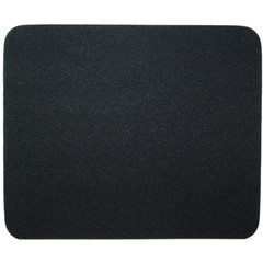 Black Mouse Pad 6mm (25.5 x 22cm) - Part Number: 90D5-5200BK