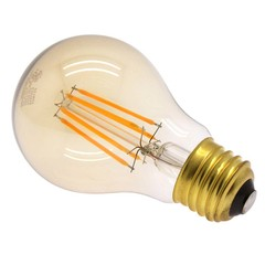 6 Watt (40W Equiv.) Warm (2200k) Dimmable LED Filament Light Bulb, E26 - Part Number: 90L2-20106