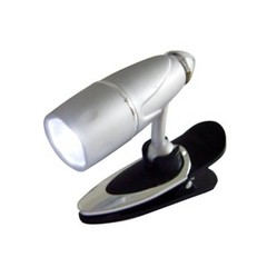 Mini LED Clip Light, Discrete Book Light, Batteries Included - Part Number: 90W1-20300