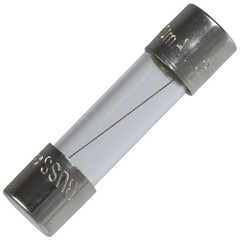 Buss Fuse, 250 Volt / 1000 mA (1 Amp), Fast Acting, Power Distribution Box Compatible, 50 Pieces - Part Number: 90W2-09002
