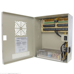 18 Port Power Distribution Box, 12 Volts DC / 20 Amps - Part Number: 90W2-18212