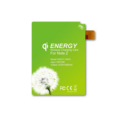 Qi Wireless Charging Energy Card for Samsung Galaxy Note 2 - Part Number: 90W3-03320