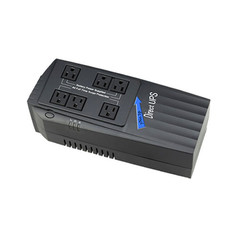 XP 600 Surge Strip UPS, Black, 600 VA (Volt Amps), Uninterrupted Power Supply - Part Number: 91W1-20600
