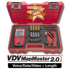 Platinum Tools VDV Mapmaster 2.0 Tester Kit. Box. - Part Number: T129K1