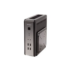 Antec ISK110-VESA Mini-ITX with VESA Mount - Desktop - Steel, Plastic - Part Number: ISK110-VESA