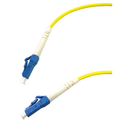 Fiber Optic Cable, LC / LC, Singlemode, Simplex, 9/125, 5 meter (16.5 foot) - Part Number: LCLC-00205