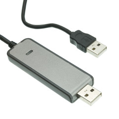 USB 2.0 Hi-Speed File Transfer Data Link Cable, 6 foot - Part Number: UD-A20