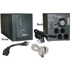 Vesta Pro 1400 UPS, Black, 1400 VA (Volt Amps) / 840 Watt, Uninterrupted Power Supply - Part Number: 91W1-01400