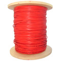 12 Fiber Indoor Distribution Fiber Optic Cable, Multimode 50/125 OM2, Plenum Rated, Orange, Spool, 1000ft thumbnail