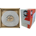 Security/Alarm Wire, Gray, 18/6 (18AWG 6 Conductor), Stranded, CM / Inwall rated, Pullbox, 1000 foot thumbnail