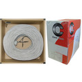 Security/Alarm Wire, Gray, 14/2 (14AWG 2 Conductor), Stranded, CMR / Inwall rated, Pullbox, 1000 foot thumbnail