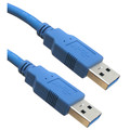 USB 3.0 Cable, Blue, Type A Male / Type A Male, 6 foot thumbnail