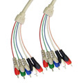 RCA Component Video With Audio Cable, 3 RCA Male (RGB) and 2 RCA Male (Audio), 6 foot thumbnail