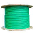 Bulk Dual Cat6 and Dual RG6U Quad Shield with Green Outer Jacket, Spool, 500 foot thumbnail