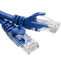 10X8-26100.5 - Cat6 Finger Boot Ethernet Patch Cable, Blue, 6 inch