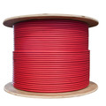 Bulk Shielded Cat6 Red Ethernet Cable, STP (Shielded Twisted Pair), Solid, Spool, 1000 foot thumbnail