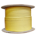 Plenum Cat6 Bulk Cable, Yellow, Solid, Shielded, CMP, 23 AWG, Spool, 1000 foot thumbnail
