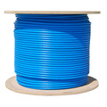 Bulk Cat6a Blue Ethernet Cable, 10 gig Solid, UTP (Unshielded Twisted Pair), 500Mhz, 23 AWG, Spool, 1000 foot thumbnail