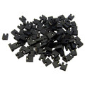 Computer Jumper For Hard Drive, CD/DVD Drive, Motherboard and/or Expansion Card Jumper blocks, 100 Piece, 2.54mm thumbnail
