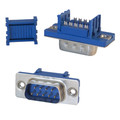 DB9 Male IDC Ribbon Right Angle Connector 3pcs thumbnail